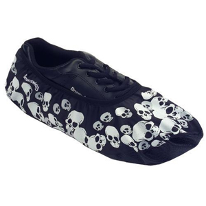 Brunswick Blitz Shoe Covers Skulls Bowling Accessories