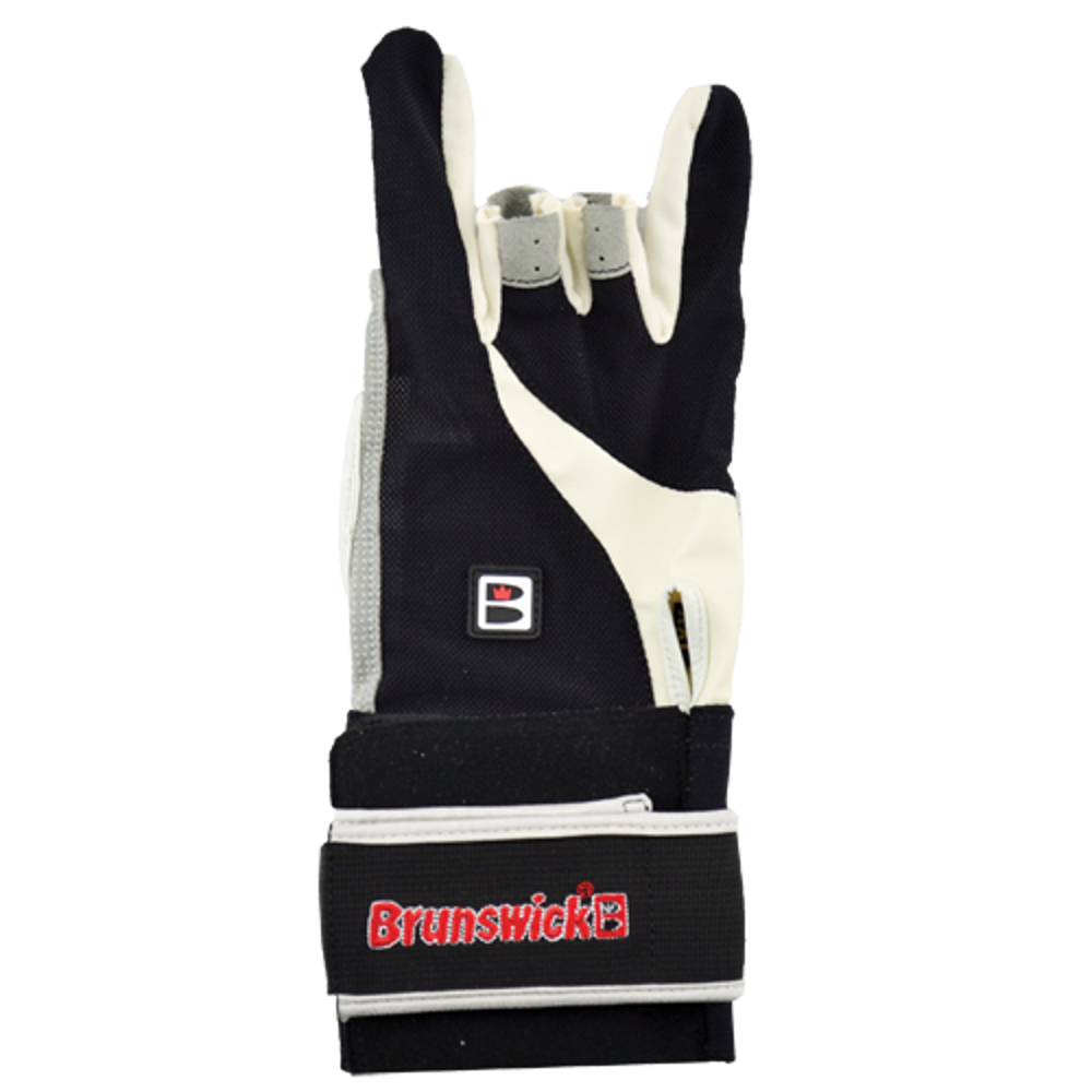 Brunswick Power XXX Glove Black/Charcoal Left Handed Bowling Accessories