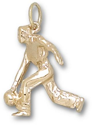 """Male Bowler"" Charm - 14KT Gold Jewelry"