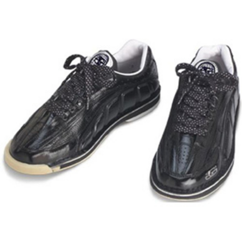 3G Bowling Men's Tour Ultra Black Left Handed Bowling Shoes