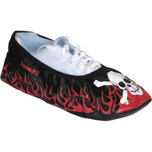Brunswick Blitz Shoe Covers Jolly Roger Bowling Accessories