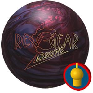 Brunswick Revolution Rev Gear Arrows Bowling Balls