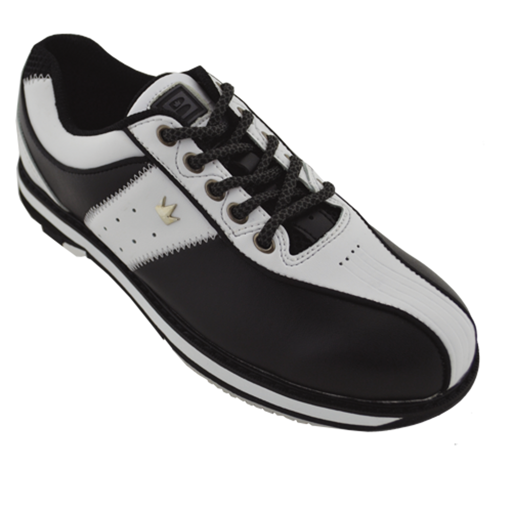 Brunswick Women's Charm White/Black Right Handed Bowling Shoes