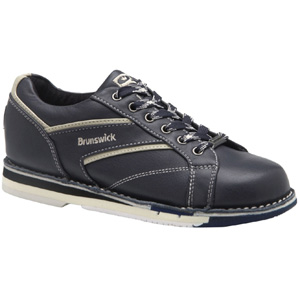 Brunswick Women's Classic Navy/Cream Right Handed Bowling Shoes