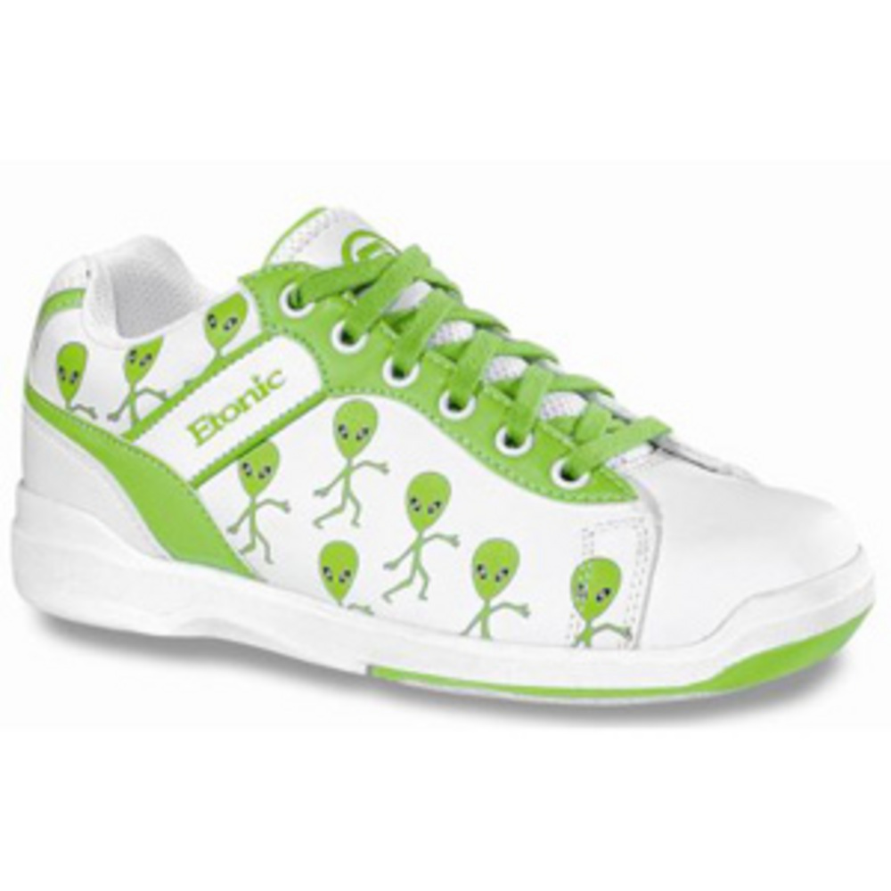 Etonic Basic Youth Glo Alien Size 1 Only Bowling Shoes