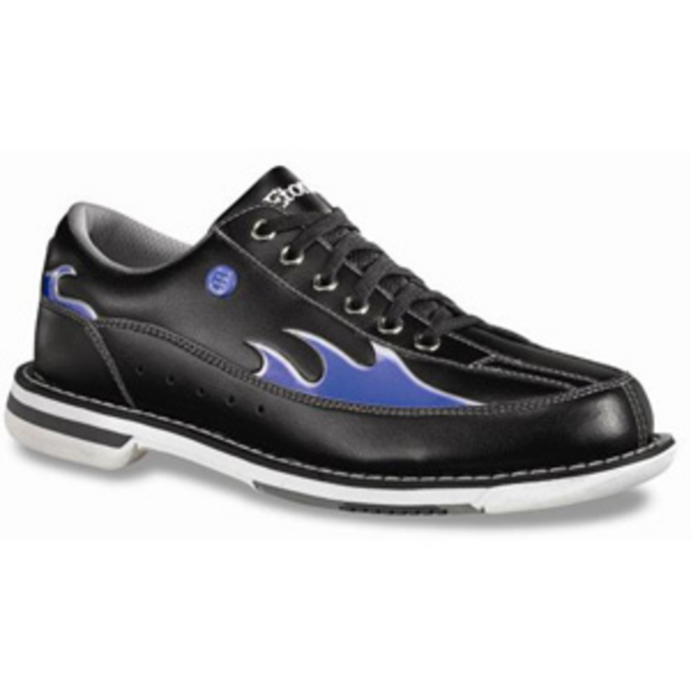 Blue Flame Bowling Shoes